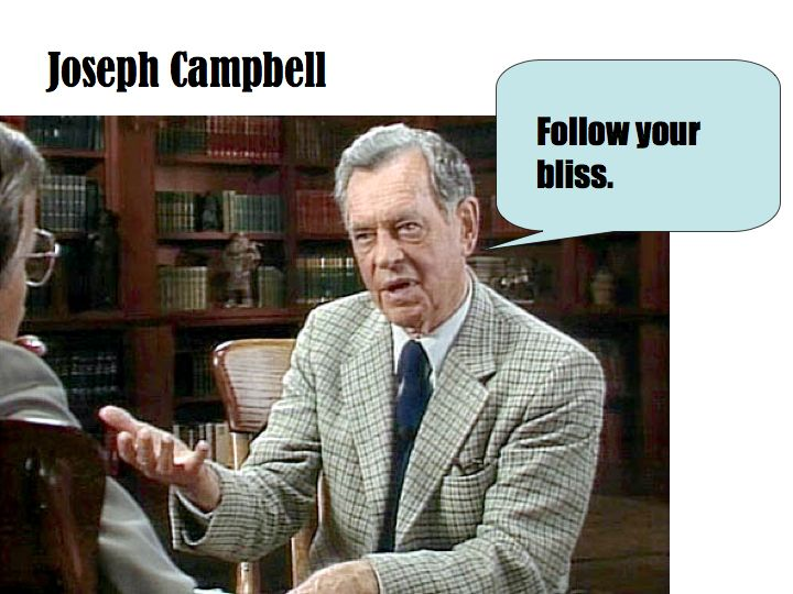 Joseph Cambell - Follow Your Bliss