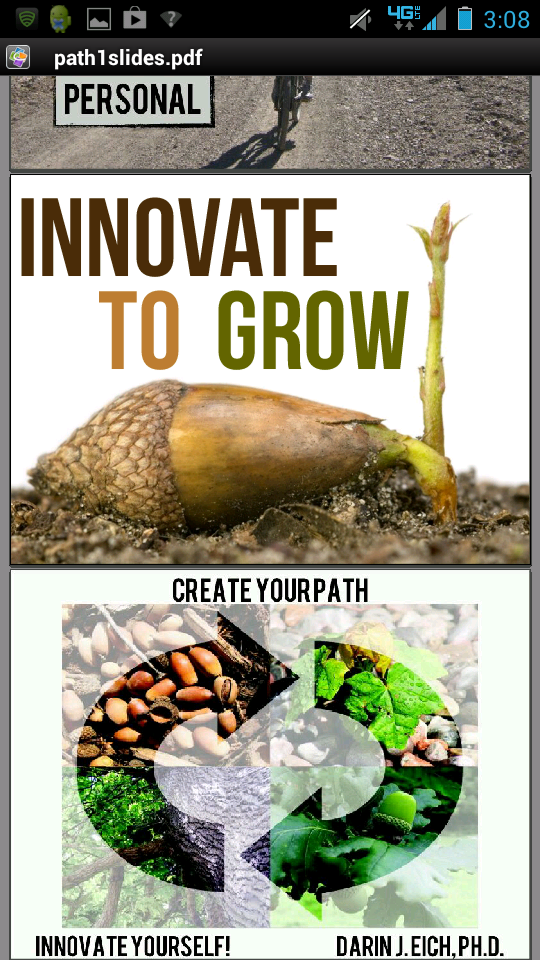 Create Your Path Slides in PDF Format For Mobile Devices
