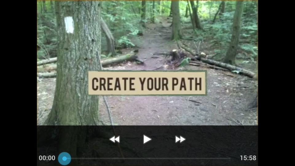 Create Your Path Video Modules on your Mobile Device