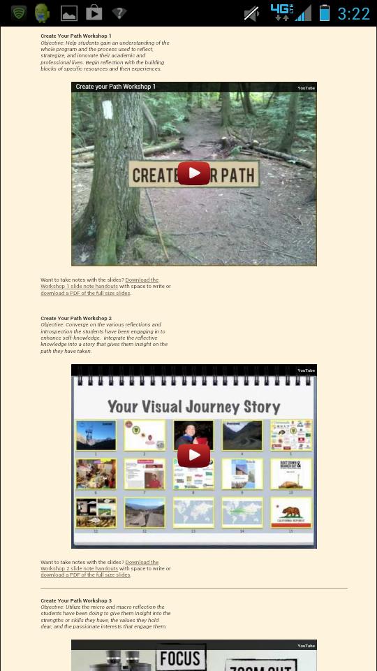 Create Your Path Mobile Leadership Program